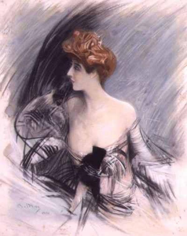 Дж. БОЛДИНИ Портрет Сары Бернар. 1880