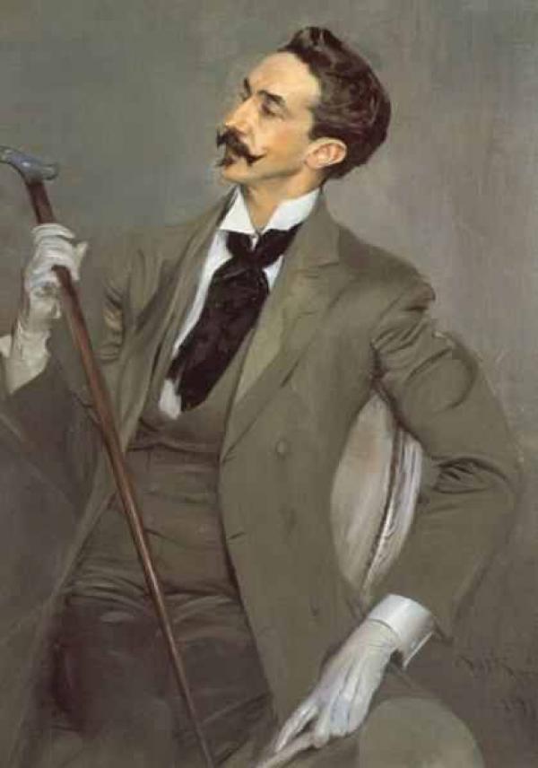 Дж. БОЛДИНИ. Портрет графа Роберта де Монтескье. 1897