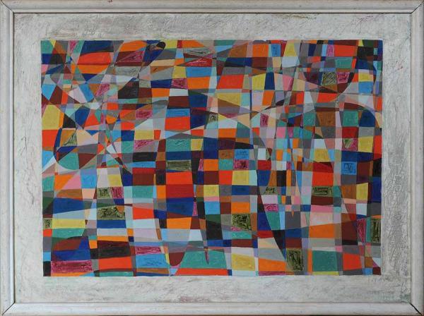 СЛЕПЫШЕВ Анатолий Степанович (1932) Мозаика. 1985