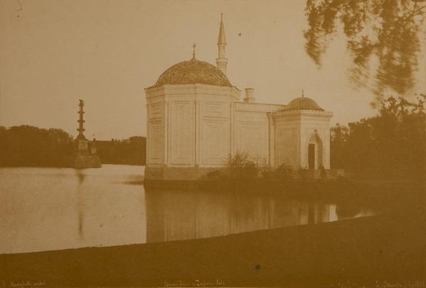 ИВАН БИАНКИ Павильон  Турецкая баня и Чесменская колонна