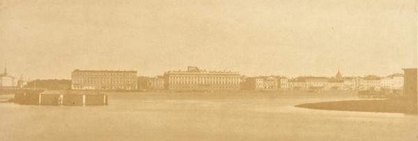 ИВАН БИАНКИ  Санкт-Петербург. Вид с Петербургской набережной. Мраморный дворец, 1768–1785.