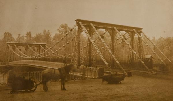 ИВАН БИАНКИ  Санкт-Петербург. Пантелеймоновский мост, 1822–1824.