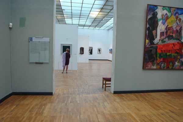 В Третьяковской галерее