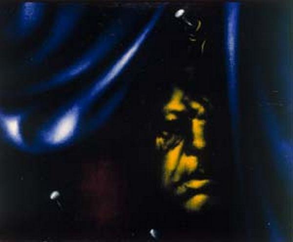 ОЛЕГ ЦЕЛКОВ Портрет  Юрия Коренца. 1972