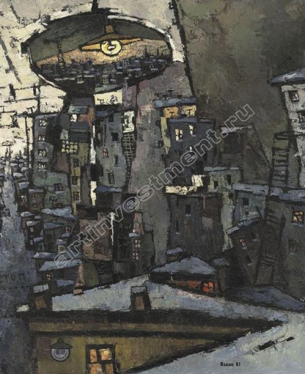 РАБИН О.Я. Без  названия. 1961