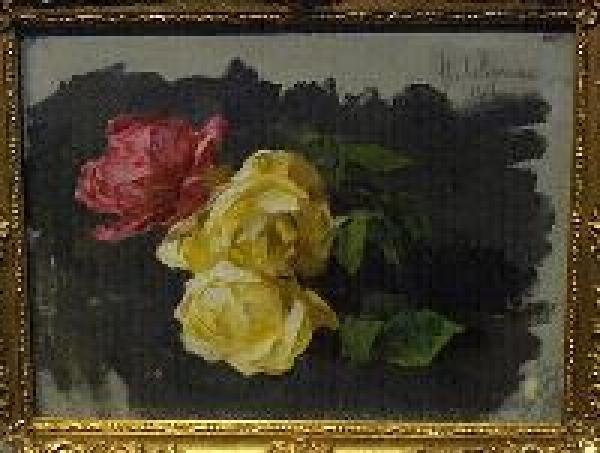 Розы. 1894