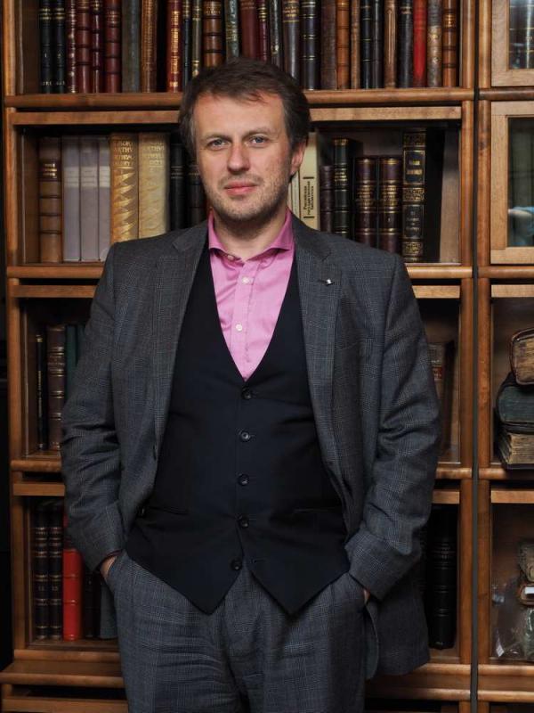 Сергей Бурмистров — руководитель аукционного дома «В Никитском»