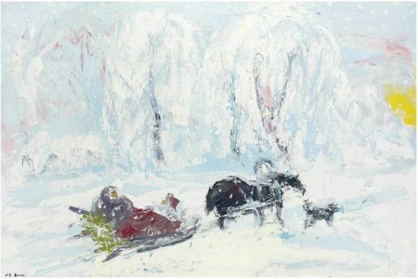 СЛЕПЫШЕВ Анатолий Степанович (1932) Зима
