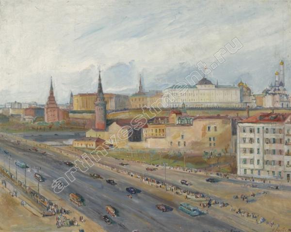 Александр ЛАБАС Вид на Кремль. 1946
