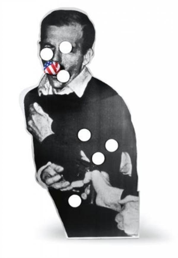 10. КЭДИ НОЛАНД Освальд. 1989 Алюминий, шелкография