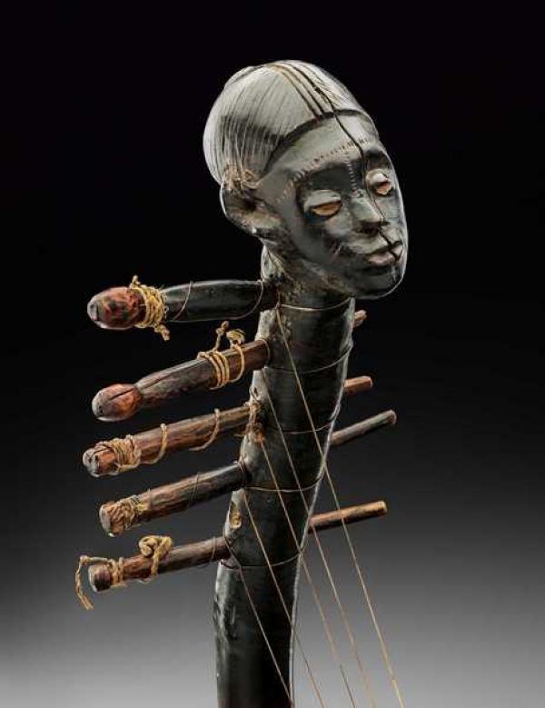 Арфа  народа Занде