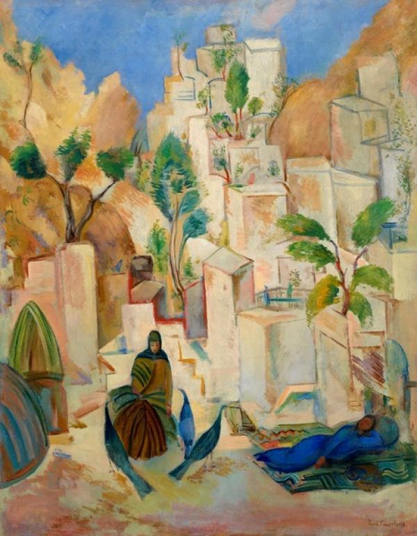 КУЗНЕЦОВ Павел  Варфоломеевич (1878–1968) Восточный город. Бухара. 1912