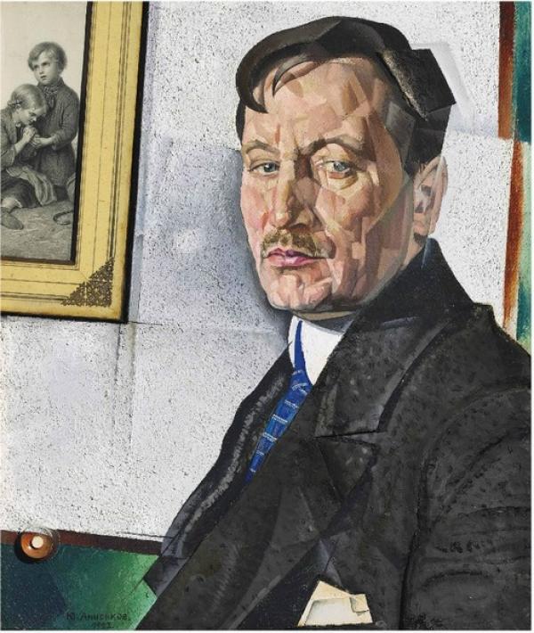 АННЕНКОВ Юрий Павлович  (1889–1974) Портрет Александра Николаевича Тихонова. 1922
