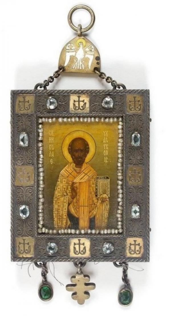 Икона «Николай Чудотворец». Начало  ХХ