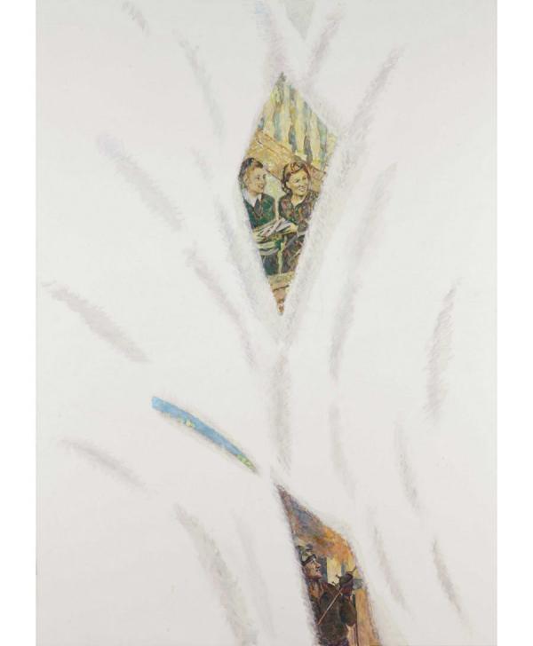 КАБАКОВ Илья Иосифович (1933) № 5 из серии «Под снегом». 2004