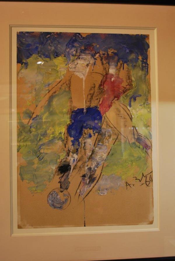 АНАТОЛИЙ ЗВЕРЕВ Футболисты. 1969
