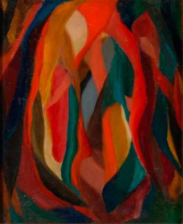 ЛИДИЯ МАСТЕРКОВА  Абстрактная композиция. 1963