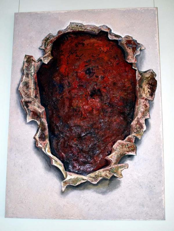 Работа Андрея Гросицкого на выставке «Невыносимая свобода творчества. 1975–2010»