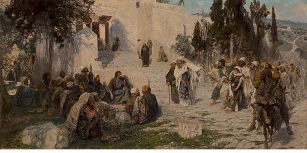 ВАСИЛИЙ ПОЛЕНОВ Кто из вас без греха? 1908