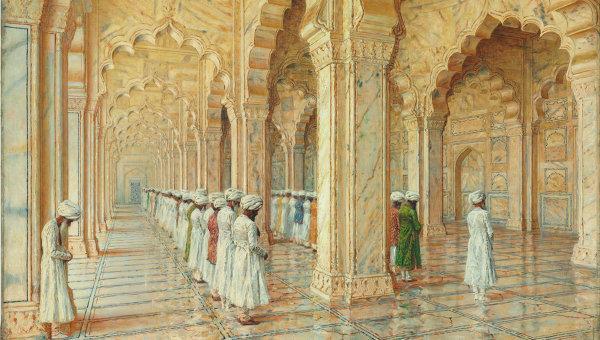 ВАСИЛИЙ ВЕРЕЩАГИН Жемчужная мечеть в Агре. 1870–1880