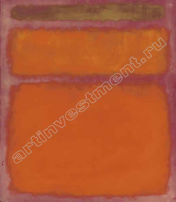 МАРК РОТКО Оранжевое, красное, желтое. 1961