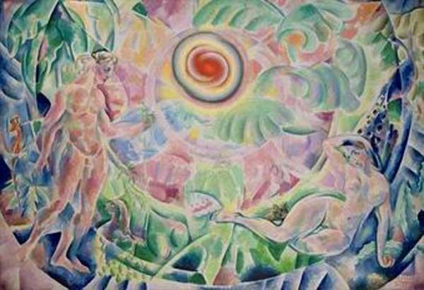 ВЛАДИМИР БАРАНОВ-РОССИНЕ Ритм (Адам и Ева). 1910