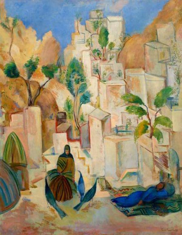 ПАВЕЛ КУЗНЕЦОВ Восточный город. Бухара. 1912