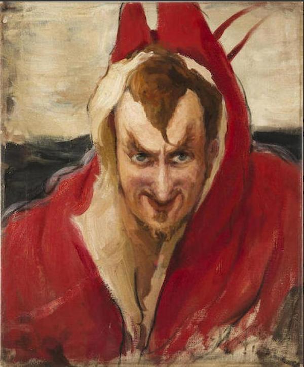 Илья РЕПИН Портрет Григория Ге в образе Мефистофеля