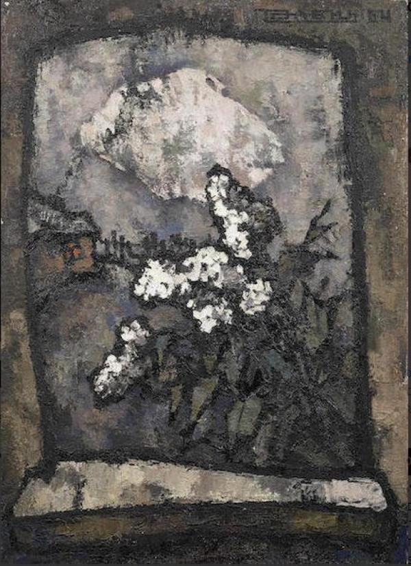Оскар РАБИН Сирень. 1964