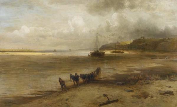 Алексей САВРАСОВ На Волге возле Юрьевца. 1870