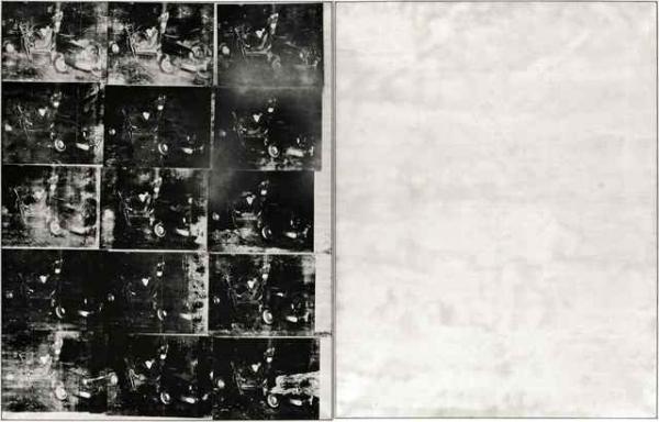 ЭНДИ УОРХОЛ Серебряная автокатастрофа (Двойная авария). 1963