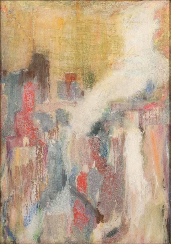 Валентин ОКОРОКОВ (1891–1974) Струящийся свет. Эскиз. 1964
