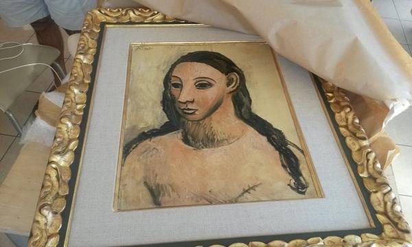 ПАБЛО ПИКАССО Голова молодой женщины