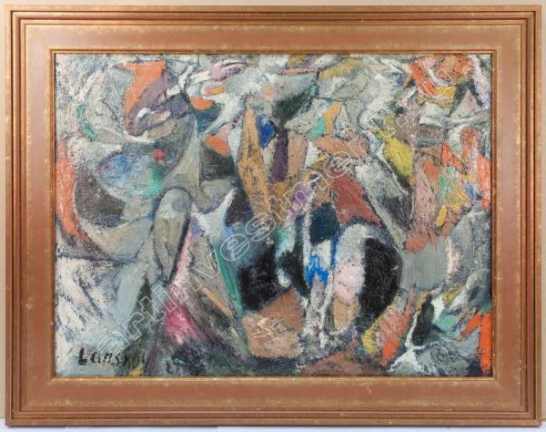 ЛАНСКОЙ Андрей Михайлович (1902–1976) Абстрактная композиция. 1940–50-е