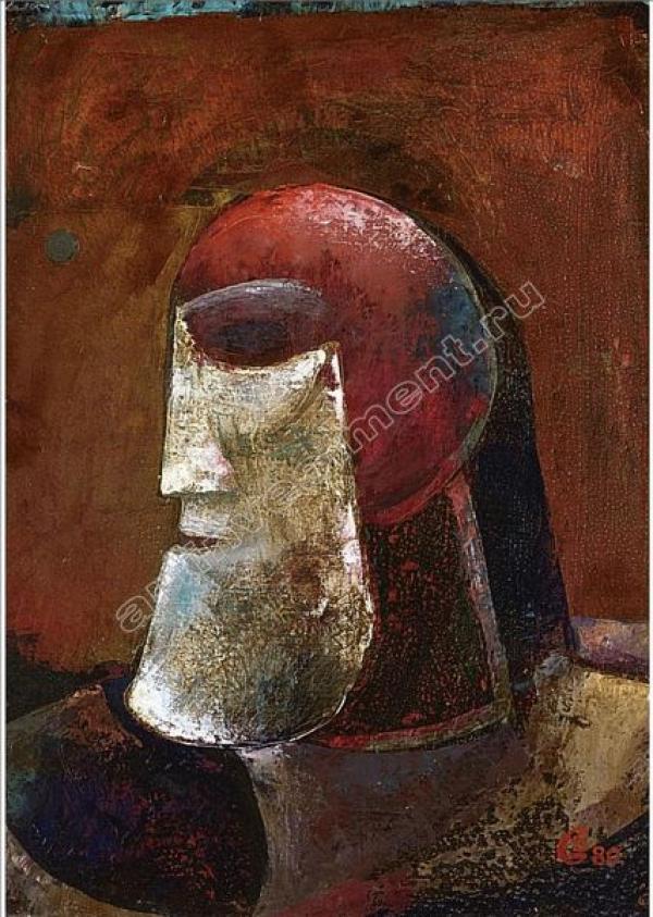 Глеб БОГОМОЛОВ Голова  воина. 1980