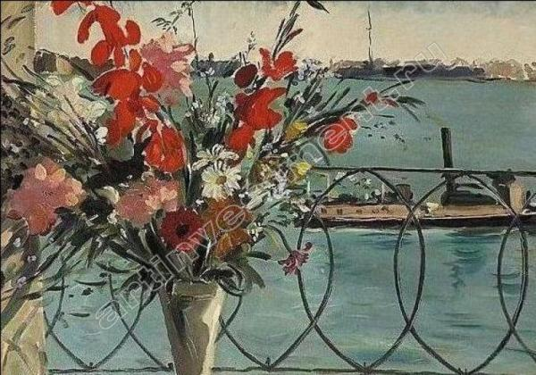 Дмитрий Бушен. Вид с балкона