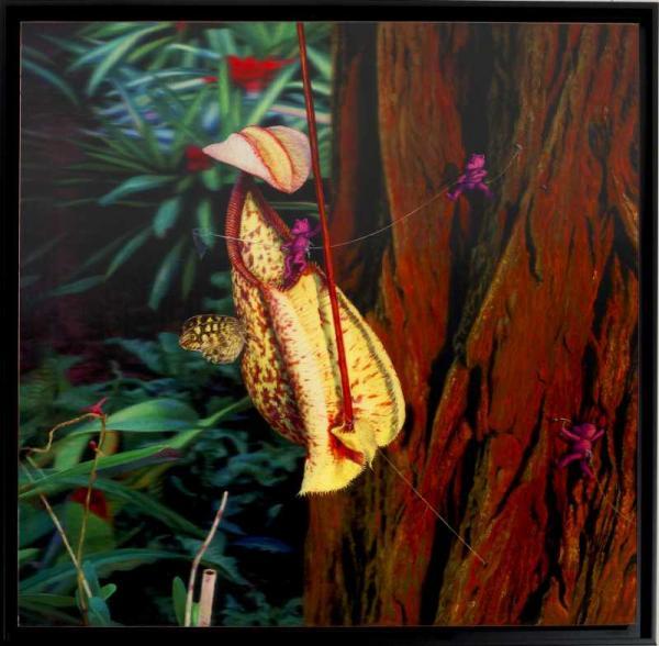 АЛЕКСАНДР ЗАХАРОВ «Ловля бабочки». 2014