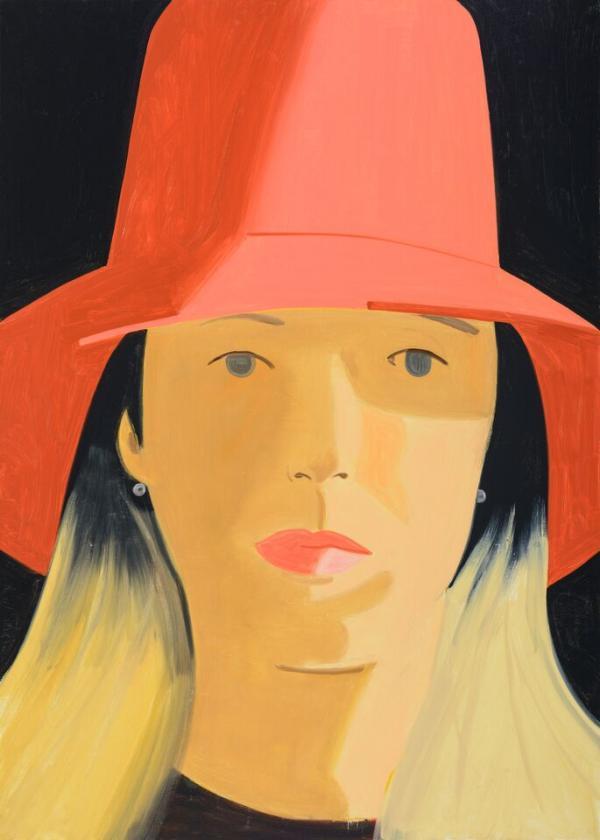 АЛЕКС КАЦ Красная шляпа (Элиза). 2013