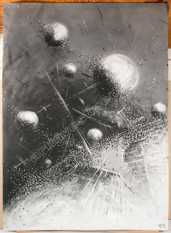 Константин БАТЫНКОВ (1959) Космос 1. 2000-е