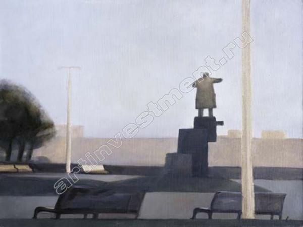 Владимир ШИНКАРЁВ (1959) Площадь Ленина I. 1999