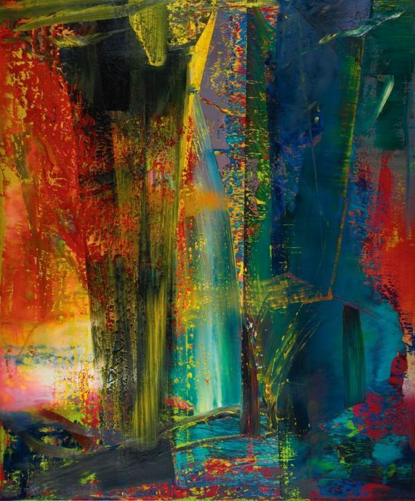 ГЕРХАРД РИХТЕР Абстрактная картина. 1986