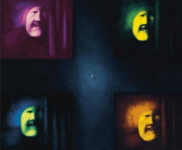 Олег ЦЕЛКОВ (1934) Четыре  персонажа. 1978