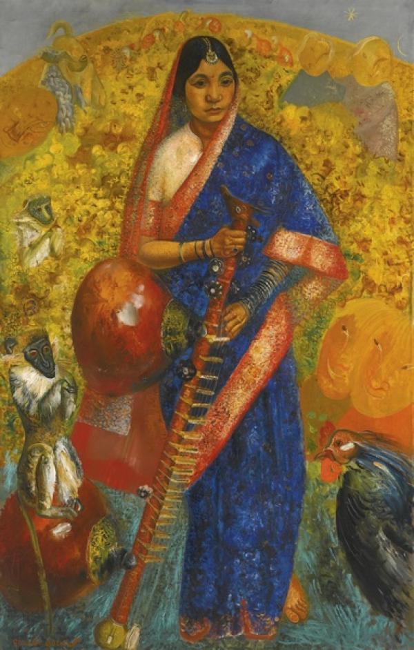 Борис ГРИГОРЬЕВ  (1886–1939) Рамаяна. 1931