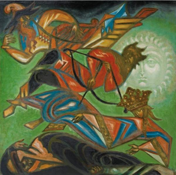 Дмитрий СТЕЛЛЕЦКИЙ (1875–1947) De l'Aube à la nuit (Рассвет в ночи)