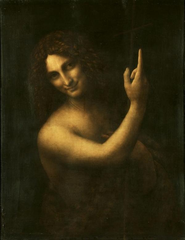 ЛЕОНАРДО ДА ВИНЧИ Иоанн Креститель. 1513