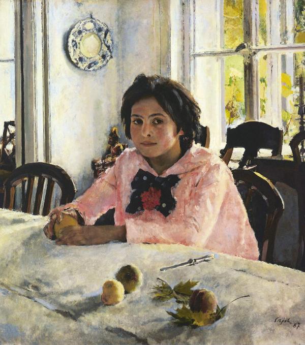 Валентин СЕРОВ Девочка с персиками. 1887