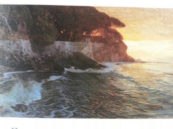Картина с подписью <em>И. Бродск</em><em>i</em><em>й 1911</em>,  изъятая 22 ноября 2013 года при таможенном досмотре багажа и ручной клади А.Р.Коха