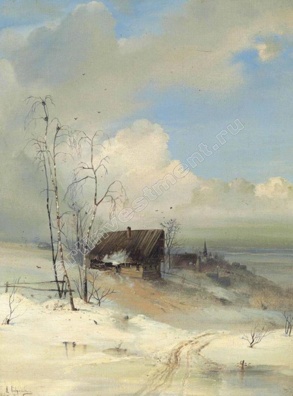 Алексей САВРАСОВ Приход весны. 1880-е