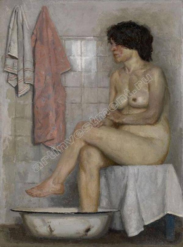Гелий КОРЖЕВ  (1925–2012) Обнаженная в ванной