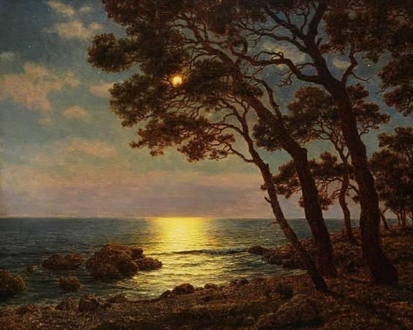 И.Ф.ШУЛЬТЦЕ Вид на лунный берег